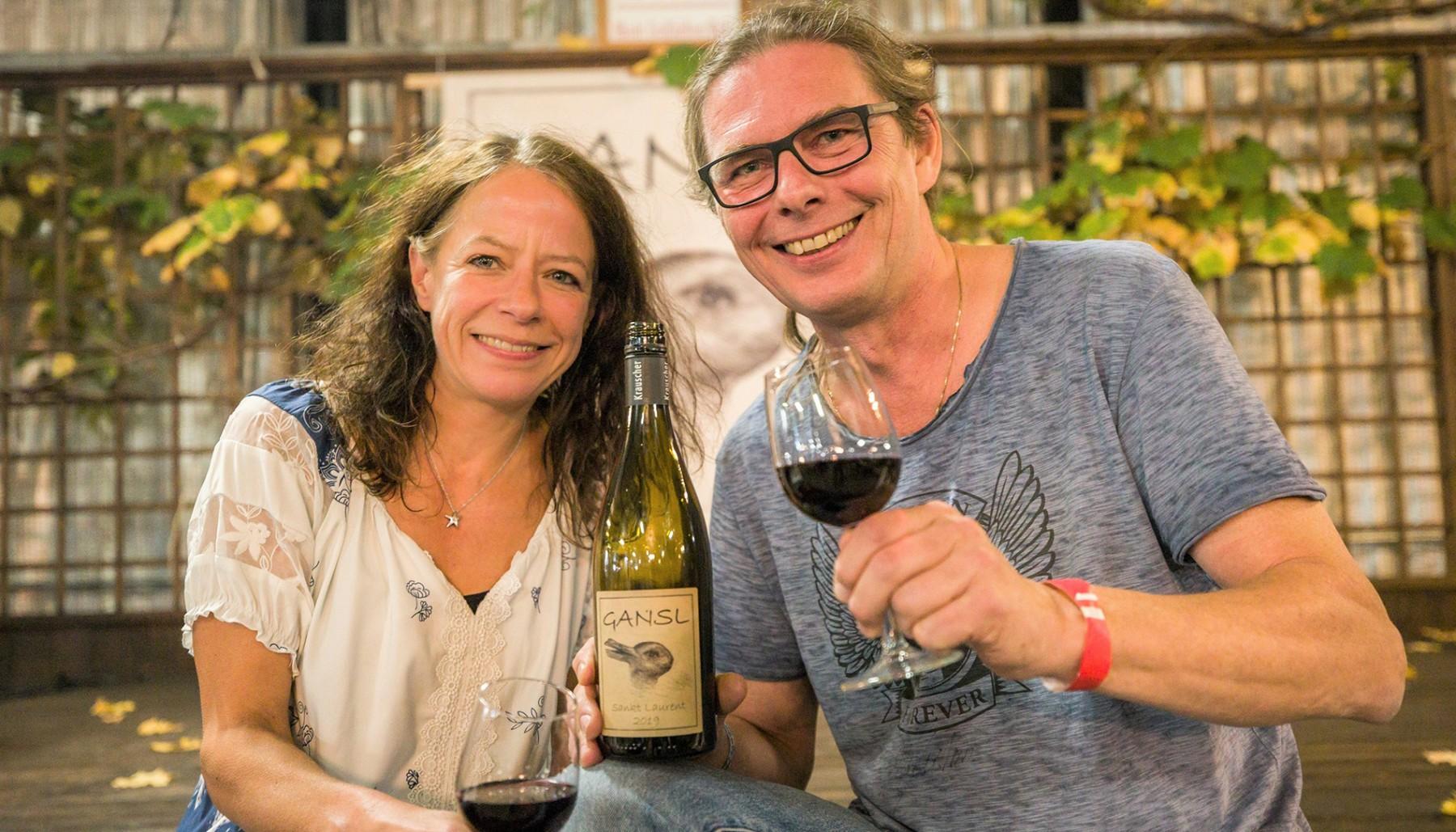 Weingut EHE Krauscher - •Kleines Familienweingut mit Weine die nicht jeder hat – Weiß-Rot-Süß- und Schwaumweine + Traubensaft •Wir veranstalten auch 2 x jährlich ein großes Weinfest mit regionalen Schmankerl-Partner & auch Werbemöglichkeiten für Firmen